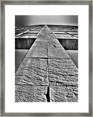 Cross Framed Print by Mark Alder