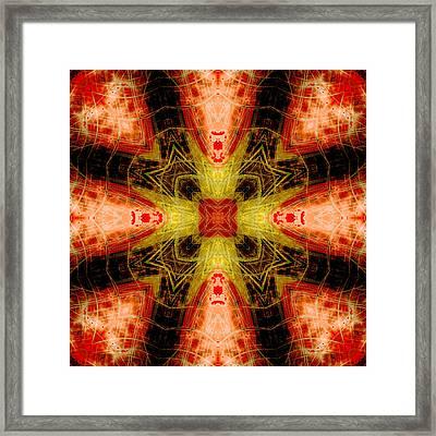 Cross Of Deliverance Framed Print by David G Paul