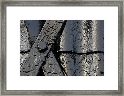 Cross Over Framed Print by Wendy Wilton
