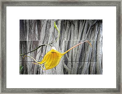 Cross Reach Framed Print