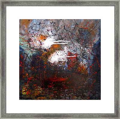 Cross The Time Framed Print by Min Zou