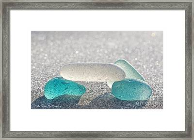 Cross This Bridge When.... Framed Print by Barbara McMahon
