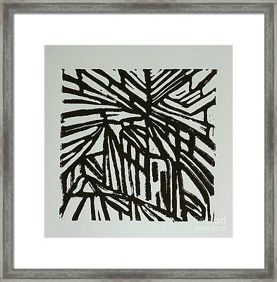 Cross Way I Framed Print by Christiane Schulze Art And Photography