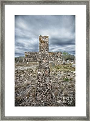 Cross With No Name Framed Print