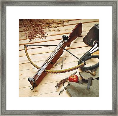 Crossbow Framed Print by Manfred Lutzius