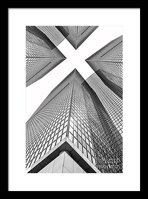 Skyscrapers Photographs Framed Prints