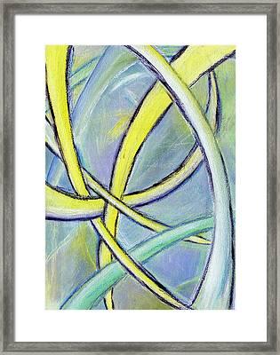 Crossed Paths Framed Print by Karyn Robinson