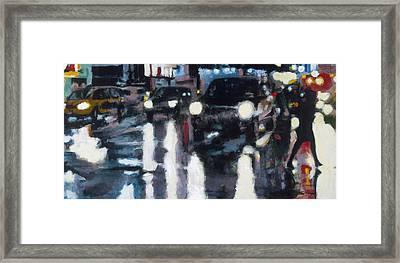 Crossed Framed Print