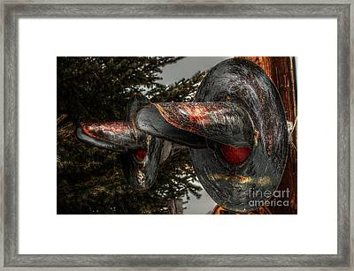 Crossing 1047 Framed Print by The Stone Age