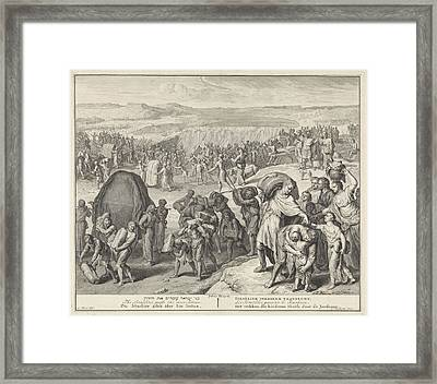 Crossing Over Jordan, Cornelis Huyberts Framed Print by Quint Lox