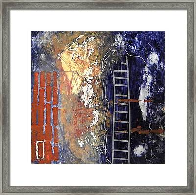 Crossing Over Framed Print