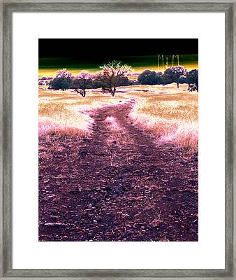 Crossing That Dark Horizon Isn't Unfamiliar To Me 2010 Framed Print by James Warren