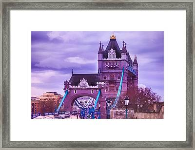 Crossing The Bridge Framed Print