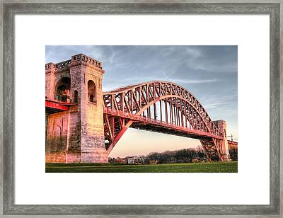Crossing The East River Framed Print by JC Findley