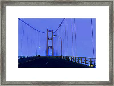Crossing The Mighty Mack Framed Print