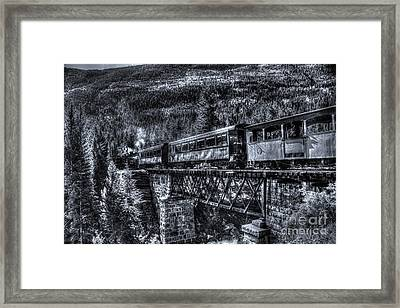 Crossing The Tressel Framed Print