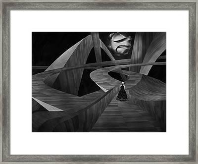 Crossroad Framed Print by Jack Zulli