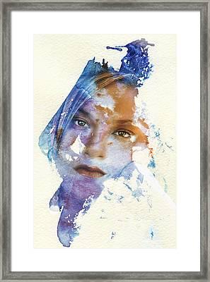 Crossroad Framed Print by Joan Bertucci