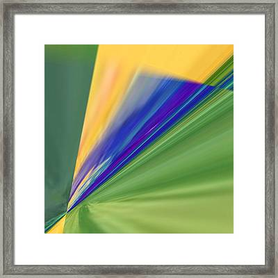 Crossroads 5 Framed Print by Tom Druin
