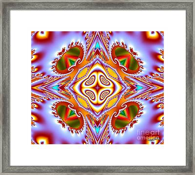 Crossroads Framed Print by Bobby Hammerstone