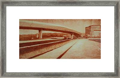 Crossroads Framed Print by Jeff Levitch