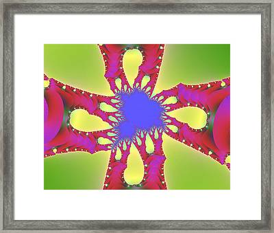 Crossroads Framed Print