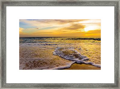 Crossroads Framed Print by Rena  Lopez