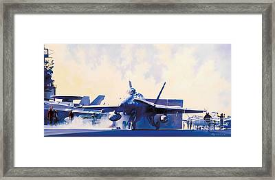 Crosstown Traffic Framed Print by Troy  White