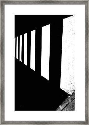 Crosswalk Framed Print by Bob Orsillo