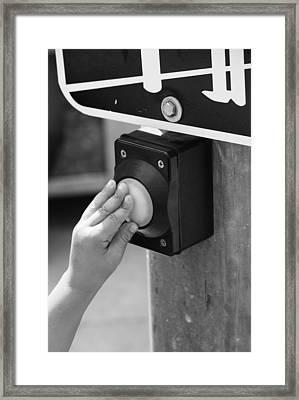 Crosswalk  Framed Print