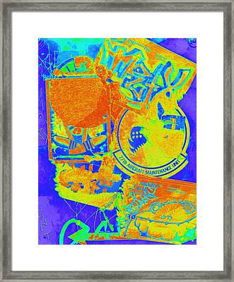 Crosswalk Three Framed Print by Randall Weidner