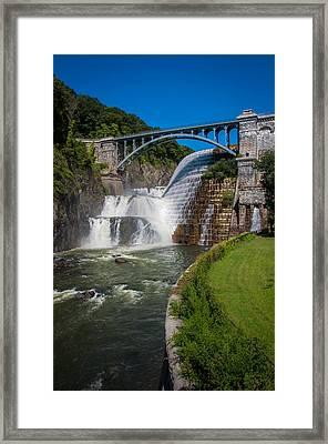 Croton Dam 1 Framed Print
