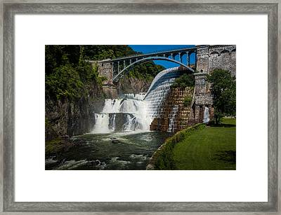 Croton Dam 2 Framed Print by Frank Mari