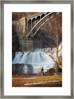 Croton Falls View Framed Print by Emmanouil Klimis