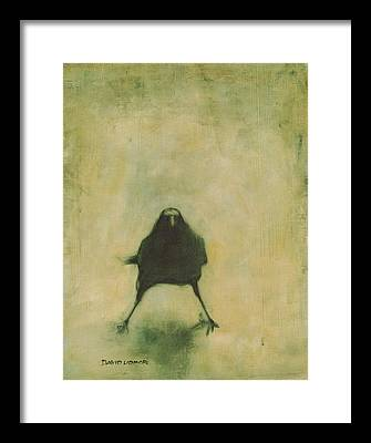 Gothic Crows Framed Prints