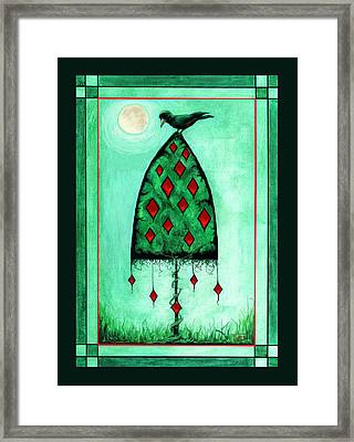 Crow Dreams Framed Print by Terry Webb Harshman