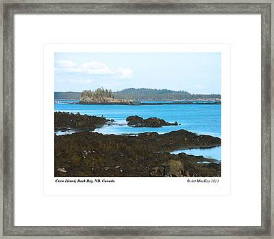 Crow Island Bay Of Fundy Nb Framed Print