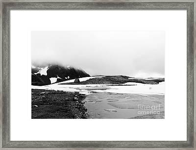 Crow Pass Trail Framed Print
