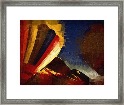 Framed Print featuring the digital art Crowd Confusion by Kirt Tisdale