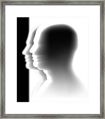Crowd Framed Print