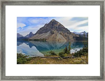 Crowfoot Mountain Banff Np Framed Print