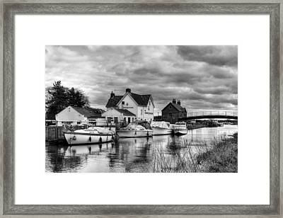Crown And Anchor Framed Print