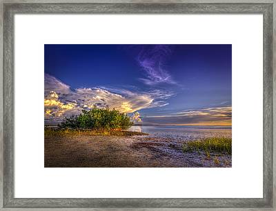 Crown Of Clouds Framed Print by Marvin Spates