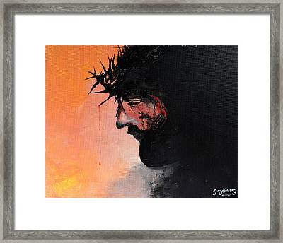 Blood Of The Redeemer Framed Print