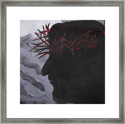 Crown Of Thorns Framed Print by Kate Farrant