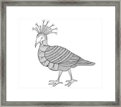 Crowned Pigeon Framed Print