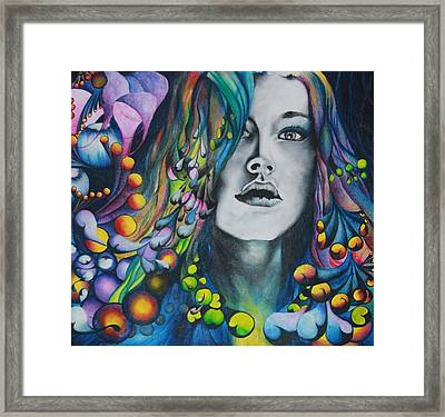 Crowning Of Ajna Framed Print