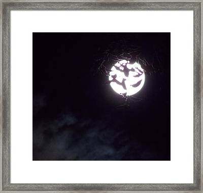 Crowning The Exulted Moon Framed Print