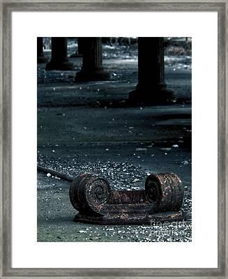Crrnj - Fallen Capital Framed Print
