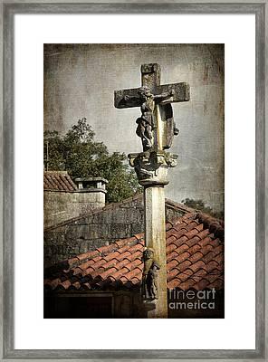 Cruceiro In Galicia Framed Print by RicardMN Photography